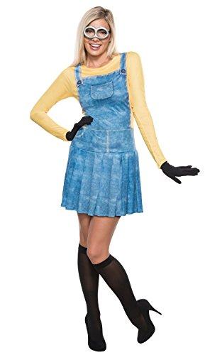 Rubie 's Offizielles Damen Minion Kleid Kostüm–XS