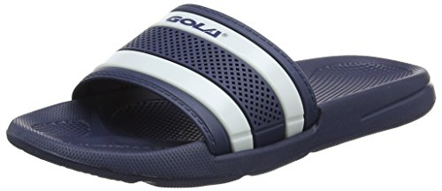 Gola Nevada, Chaussures de Fitness Femme Bleu (Navy/white)