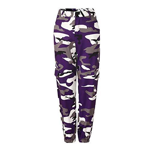 Inlefen Pantalones Casuales Mujer Pantalones Sueltos
