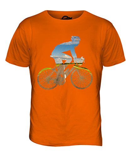 CandyMix Radfahren Herren T Shirt Orange