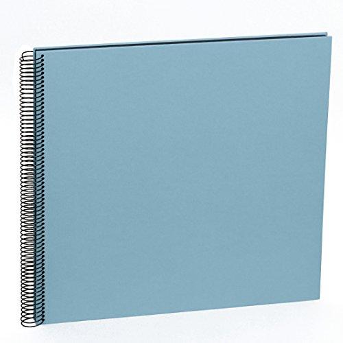 Semikolon (352905) Spiral Album Large ciel (hell-blau) | Spiral-Fotoalbum mit 50 Seiten u....