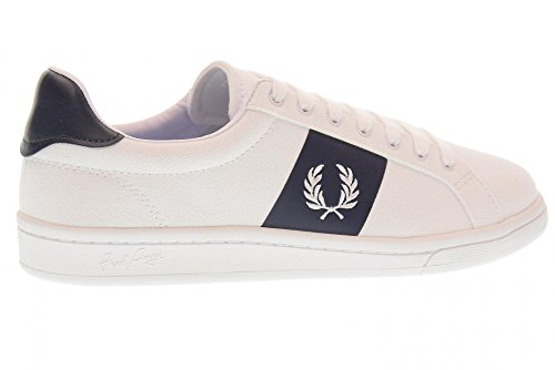 Fred Perry B3112 Sneakers Homme Blanc