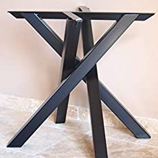 Pied De Table En Ipn Style Industriel Lot De 2 Amazon Fr