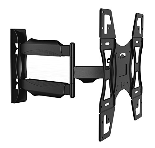 "Invision® TV Wall Mount Bracket - New Slim Line Design With Cantilever Arm Tilt & Rotation Feature For 26 - 55 inch TV Screens, Fits LED, LCD & Plasma, Max VESA 400mm x 400mm (15.8"" x 15.8"") [Please check TV VESA Mounting Holes Before Purchase]"