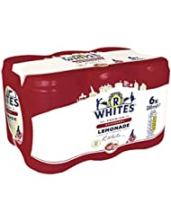 R Whites Premium Raspberry Lemonade Cans, 6 x 330 ml