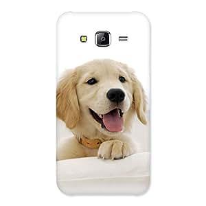 NEO WORLD Premium Muzzle Puppy Back Case Cover for Samsung Galaxy J2 Prime