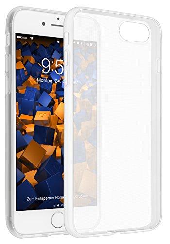 mumbi UltraSlim Hülle für iPhone 8 / iPhone 7 Schutzhülle transparent (Ultra Slim - 0.55 mm)