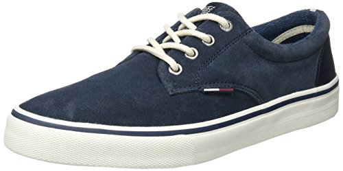 Tommy Jeans V2385ic 1b, Sneakers Basses Homme