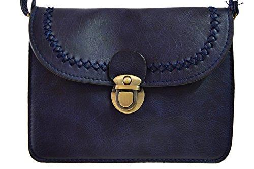 gallantry-pochette piatta a tracolla ragazza, blu (blu),