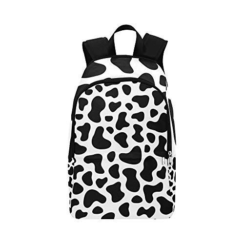 Brown und weiße Schokoladen-Tier-beiläufige Daypack-Reisetasche College School-Rucksack für Männer und Frauen - Spot-textur Wallpaper