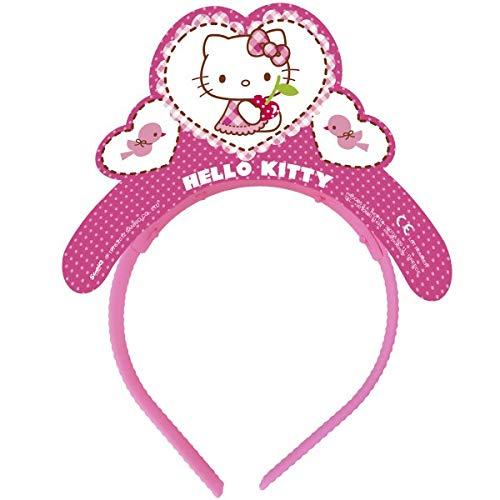 Hello Kitty Hearts Tiaras 4 PCS per Pack (Kitty Tiara Hello)