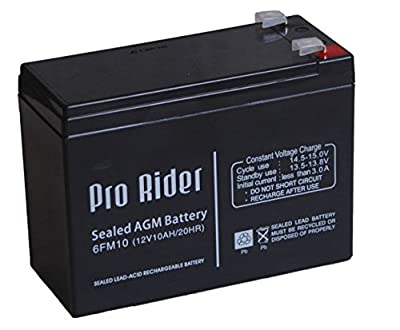 Pro Rider 12V AGM Battery for Mobility Scooter and Electric Golf Trolley