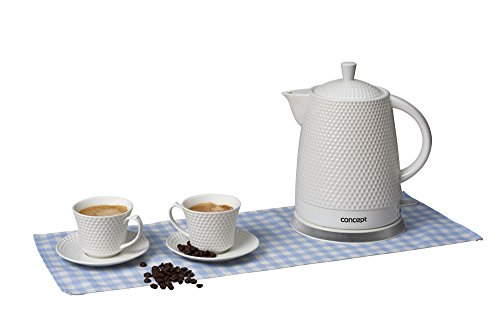 CONCEPT Hausgeräte RK-0040 Keramik Wasserkocher + 2 Tassen 1.5L 2200W - Bild 3