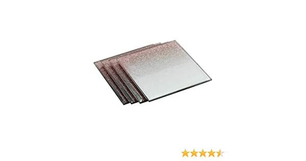 858db25bc4f9 Glass Glitter Coasters Rose Gold Pack of 4
