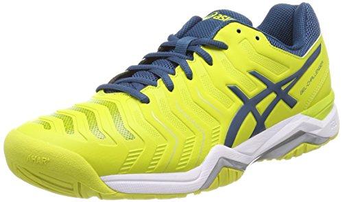 ASICS Gel-Challenger 11, Scarpe da Tennis Uomo, Giallo (Sulphur Springink Bluesilver 8945), 45 EU
