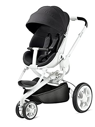 Quinny Moodd Poussette 3 Roues Black Irony