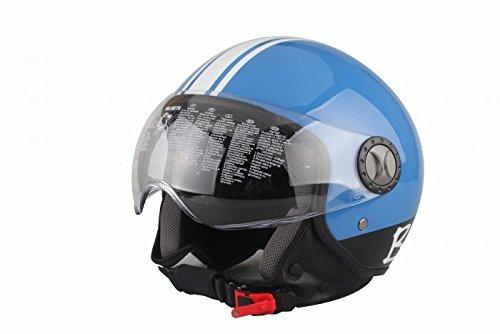 Helm Demi-Jet Modell 701 57/58 blau