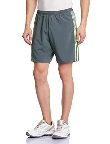 adidas Herren Auswärtsshort Real Madrid Replica, Onix/Solar Yellow, 2XL, S18147 (Fußball-shorts-herren-real Madrid)