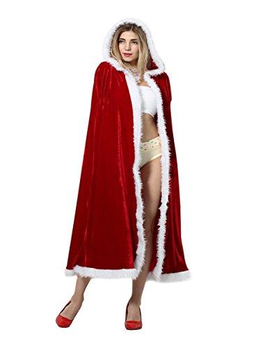 Yodensity-Cape-De-Nol-Avec-Capuchon-Adulte-Femme-En-Velours-Rouge-Mre-Nol-Vtement-Costume-De-Coaplay-Dguisement-Pour-Fte-Nol-Carnaval-Anniversaire-110cm-125cm-140cm