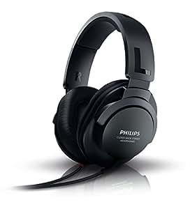 Philips SHP2600/00 Casque Hi-Fi stéréo aux basses puissantes HP 40 mm Noir