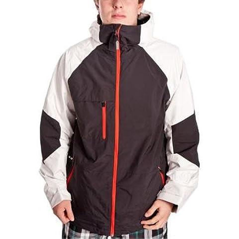 Burton giacca lancio Jacket - Black/vera paper