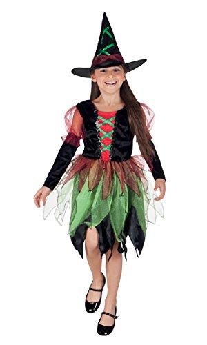 rkostüm Fairy Hexe, Gröߟe 158, schwarz (Halloween Kostüme Für 11 12 Jährige)
