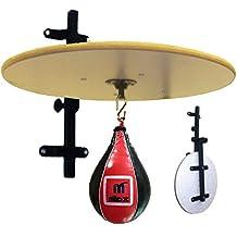 MADX de piel ajustable plegable plataforma bola de velocidad de boxeo guantes de entrenamiento MMA