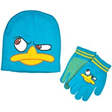 Phineas and Ferb Perry Youth Hat and Glove Set