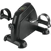 VITALmaxx 04936 Mini Trainer |Inkl. Trainingscomputer | Trainiert  Arm- , Beinmuskulatur & Ausdauer | Für Jung und Alt | Schwarz
