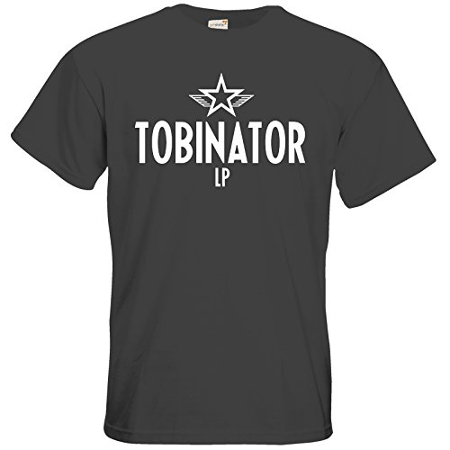 getshirts - Tobinator Official Merchandise - T-Shirt - Tobinator Dark Grey