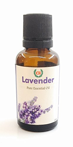 Grasse International -Pure Lavender Essential Oil - 25 ML - 100% Pure, Natural and Therapeutic Grade - Exceptional Choice for Aromatherapy, Massage and Aroma Diffusers - Suitable for All Skin Types Pure Essential Oil (25ml)