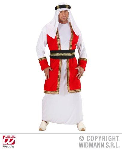 KOSTÜM - ARABISCHER PRINZ - Größe 54 (L) (Arabischer Prinz Kostüm Für Erwachsene)