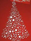 Vinilo decorativo pegatina pared, cristal, puerta (Varios colores a elegir)- navidad
