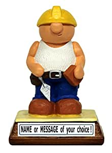 PERSONALISED Builder / DIY man - the perfect present for a man who loves DIY, building or construction (Gift Boxed) - Kerr Characters by 'Kerr Characters'