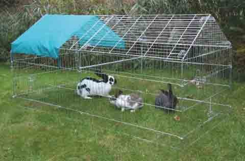 galvanised-large-apex-rabbit-run-with-top-for-small-animals-22-x-x-103mcm