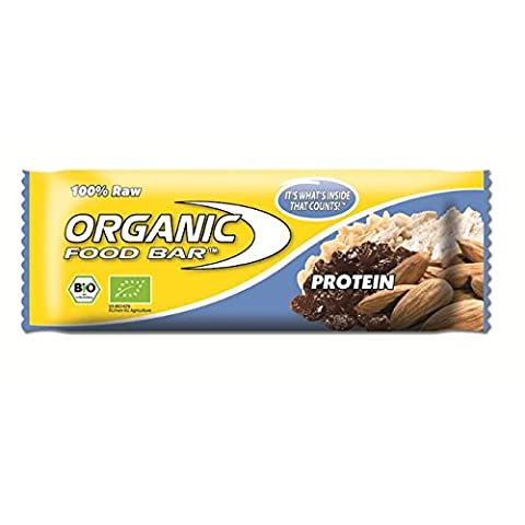 Raw Organic Food Bar Protein 68g