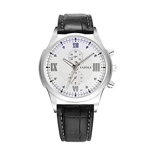 Mode-Business Fashion Watch Watch leuchtende Quarz herrenuhr-E