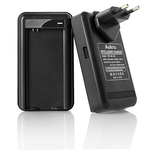 Aukru® Cargador batería Adaptador Samsung Galaxy