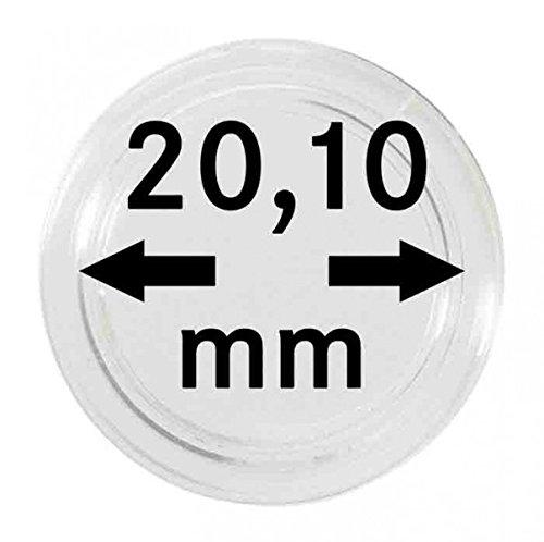 Lindner S22702010P Münzkapseln 20.10 mm-10er Pack