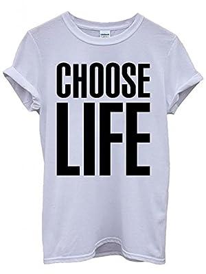 Mellor Design Choose Life Unisex T-Shirt Men Women 80's Funny Nerd Geek