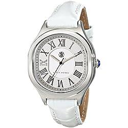 Klaus Kobec Women's KK-10024-01 Maya Analog Display Japanese Quartz White Watch