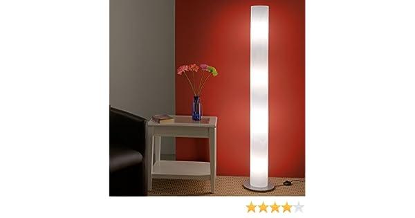 Standlampe in hochwertiger Fertigung Leuchten-H/öhe 160cm E27 Fassungen Moderne Bodenleuchte Leuchte aus wei/ßem Polycarbonat