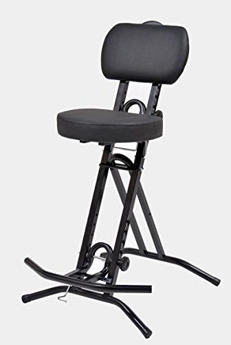 LIBEDOR Stehhilfe Stehhocker Stehsitz Sitz Sitzhilfe Stehstütze mit 6 cm ergonomischer Polster bis...