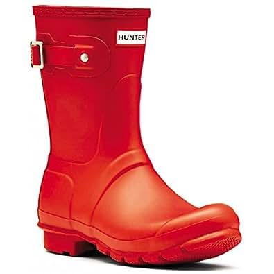 Hunters Unisex Original Short Gloss Rubber Boot Size: 2-3 UK