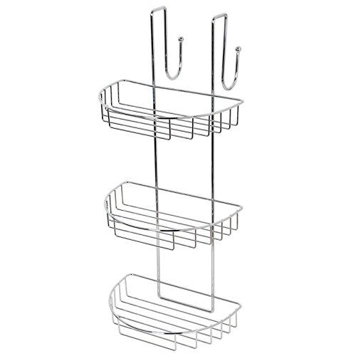 3 étages Chrome à suspendre de salle de bain Caddy de Douche
