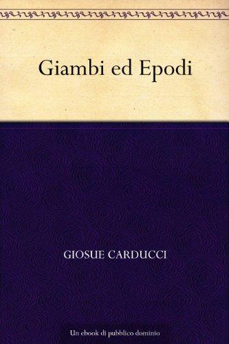 Giambi ed Epodi (Italian Edition)