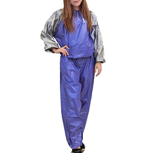 MINIRAH! Schwitzanzug,Sauna Suit,Saunaanzug,Trainingsanzug,Männer Frauen Fitness Gewichtsverlust Schwitzen (Körper Frauen Anzug)