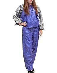 MINIRAH! Hommes Femmes Fitness Sport Costume Nouveau Santé Combinaison Sudation de Sauna Sweat Suit Training Gym Sauna Suit