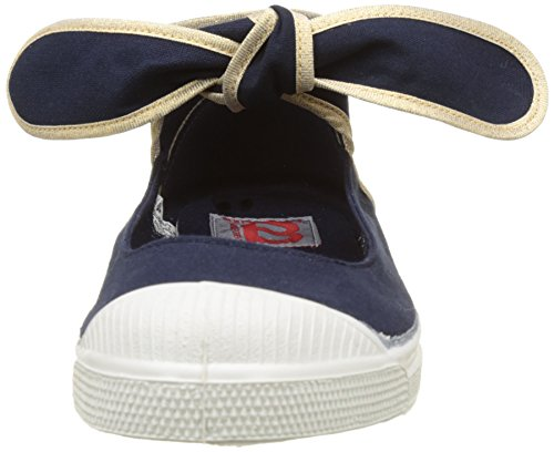 Bensimon Tennis Flo Shinypiping, Baskets Basses Femme Bleu (Marine)