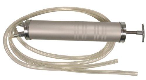 Öl-Umfüllpumpe / Handpumpe / Flüssigkeitspumpe / Absaugpumpe, 500 cm³ zum Absaugen und Einfüllen Benzin Diesel Öl Wasser etc. (A27960)